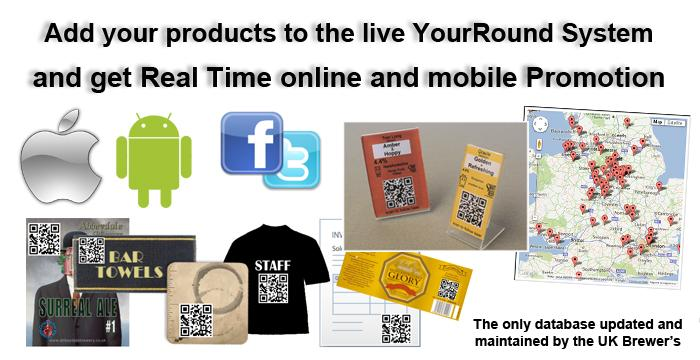 YourRound Sign Up Your Brewery